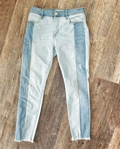 Pacsun 2 tone ankle jeggings